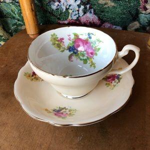 Vintage Foley teacup & saucer set